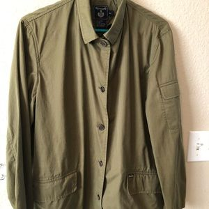Faconnable green jacket